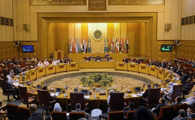A general view of the Arab League delegates meeting to discuss possible move of the U.S. embassy to Jerusalem, in Cairo, Egypt Dec. 5, 2017. (Reuters Photo)