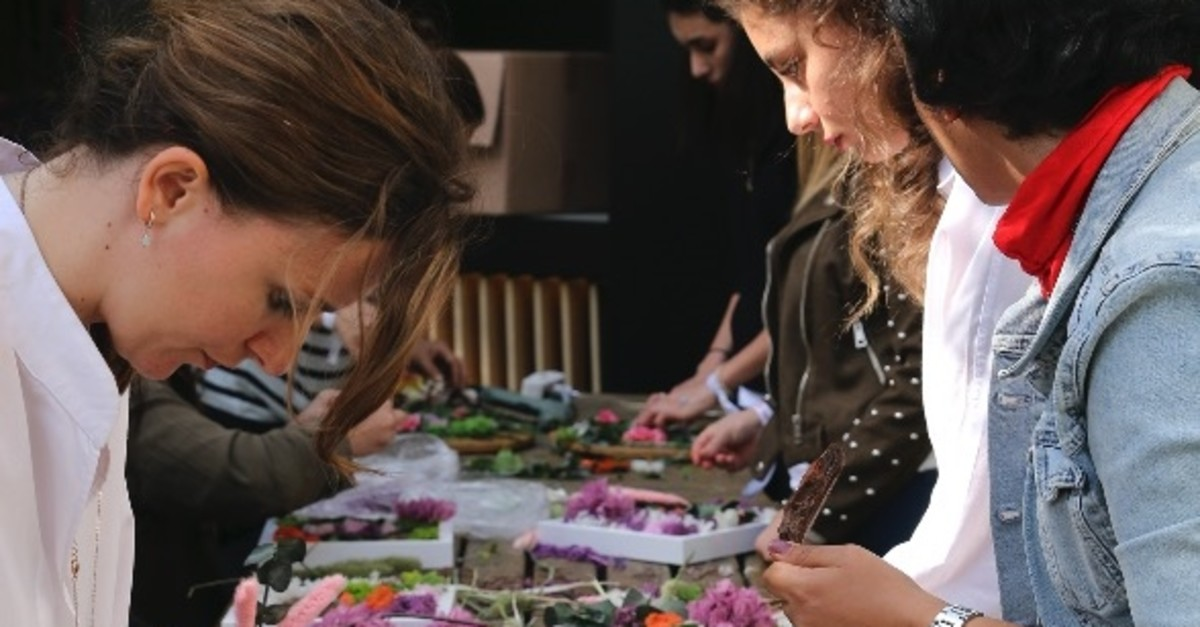Various flower workshops will be organized at Floralfest.