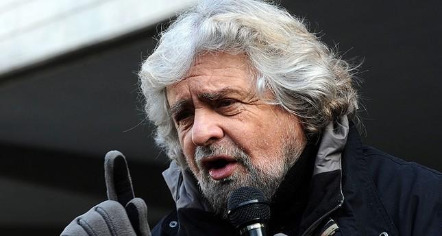 زعيم حركة 5 نجوم الإيطالية جوزييه غريللو