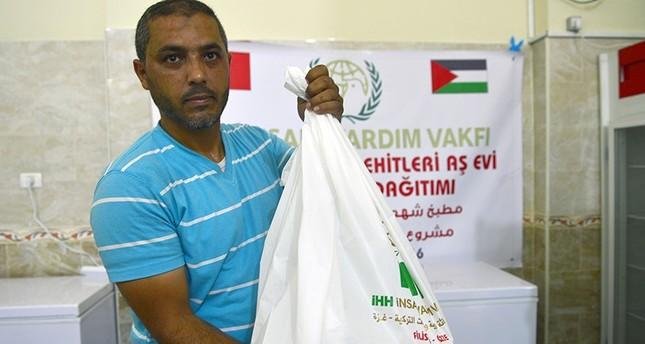 جمعية خيرية تركية تنشئ مطبخاً متنقلاً لدعم المحتاجين في قطاع غزة