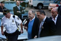 Ex-Hollywood mogul Weinstein surrenders to NYC police