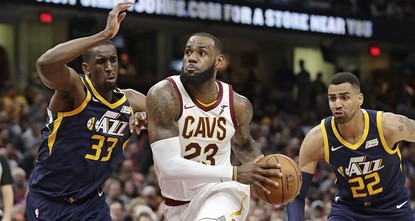 pLeBron James' numbers have done more than move the Cavaliers near the top of the Eastern Conference. He also has placed himself squarely in the discussion to win his fifth Most Valuable Player...