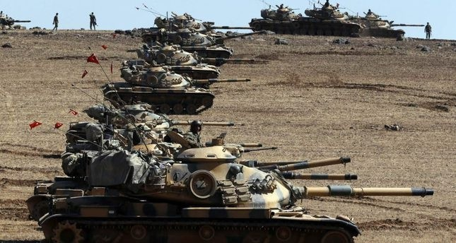 Turkey strikes Daesh positions in Syria's Jarablus, PKK's Syrian wing PYD also takes hit