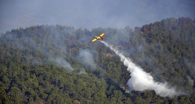 Waldbrand in Kumluca, Antalya (Foto IHA)