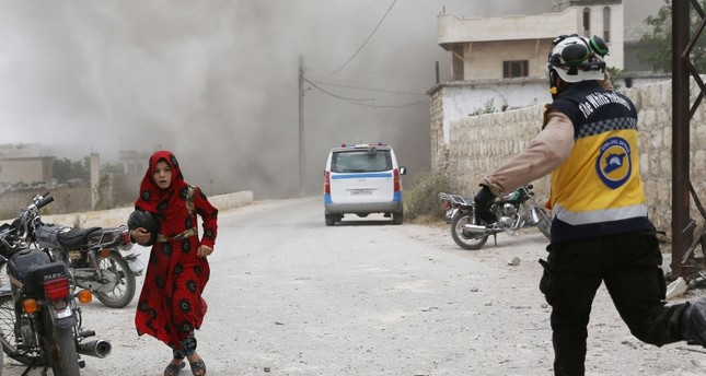 الخوذ البيضاء: 3 ملايين مدني مهددون بأكبر كارثة إنسانية في إدلب