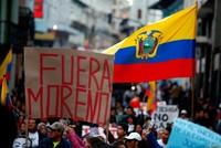 Massive pro-Assange protest hits Ecuador's capital Quito