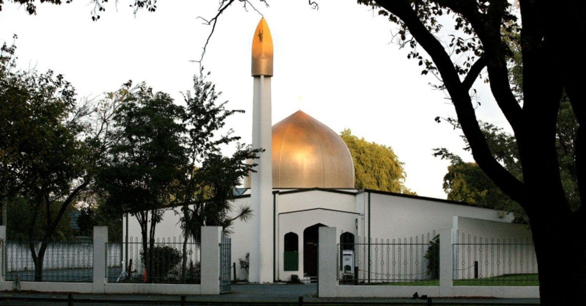 A view of the Al Noor Mosque on Deans Avenue in Christchurch, New Zealand, taken in 2014. (Reuters Photo)