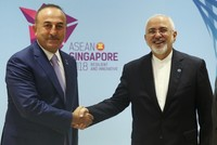 Foreign Minister Çavuşoğlu discusses bilateral relations with Japan, Iran