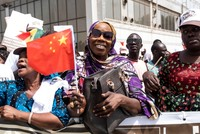 France challenged by China in former African colonies