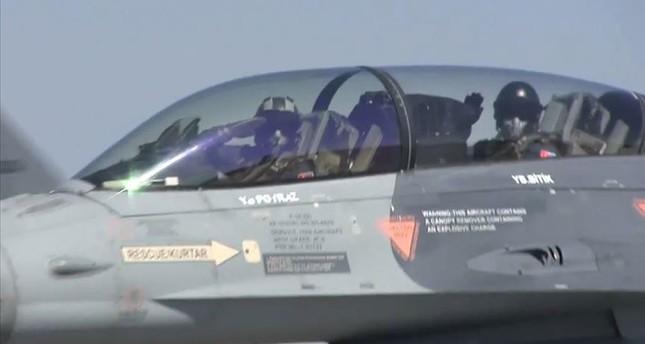 مقاتلات إف-16 تركية تشارك في مناورات النسر بأذربيجان