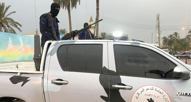 عناصر من قوات حكومة الوفاق المعترف بها دوليا (الفرنسية)