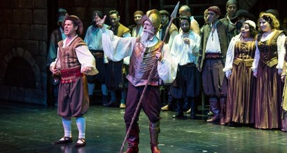 Istanbul State Opera and Ballet presents 'Man of La Mancha' musical