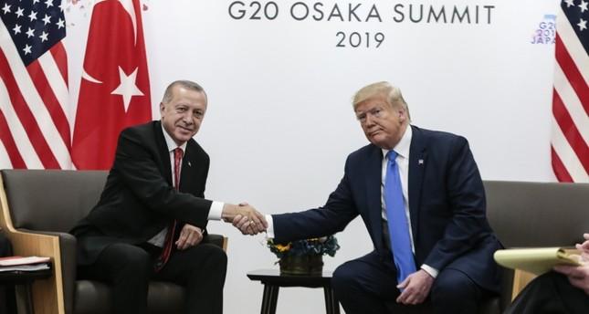 أردوغان وترامب يتفقان على التعاون لـمنع الأزمات الإنسانية الجديدة