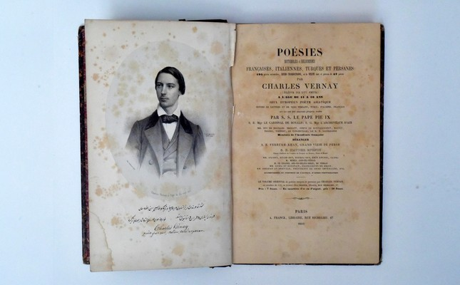 Charles Vernay's poems, published in Paris.