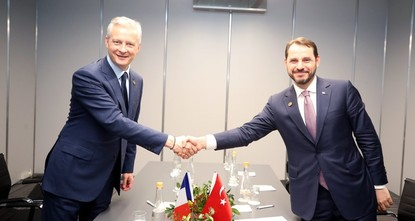 Turkey, France agree to work together against US moves