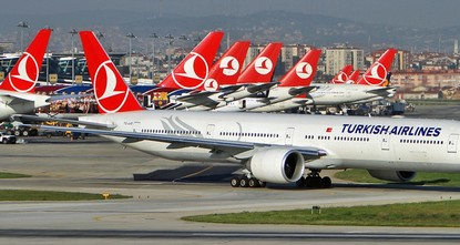 """pInsgesamt 30,3 Millionen Personen flogen in den ersten sechs Monaten diesen Jahres mit der Turkish Airlines. """"Eine noch nie zuvor erreichte Zahl, so die Fluggesellschaft am..."""