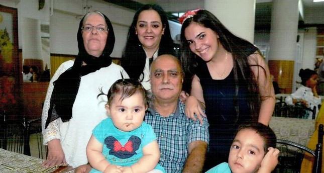 Mother Behiye Yıldırım (on the left), her daughters Demet Yıldırım Aydın and Derya Yıldırım and her grandchildren have been killed by PKK's bloody terror attack in Sur. Father Necati Yıldırım is currently hospitalized (DHA Photo)