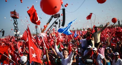 pAround a year ago, almost 5 million people gathered in Yenikapı, a large square in Istanbul, to protest the July 15 coup attempt and show their respect for democracy. Officially called the...