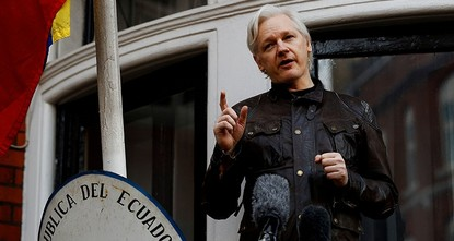 pWikiLeaks founder Julian Assange on Thursday pointed out the fake news regarding defeated coup in Turkey was not mentioned in U.S. President Donald Trump's self-proclaimed Fake News...