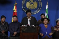 Reactions grow over coup against Bolivia's Morales