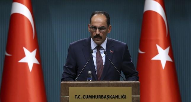 الرئاسة التركية: العالم يمر بمرحلة عصيبة وعلينا أن نكون عقلانيين وأقوياء