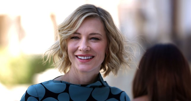 This file photo taken on December 07, 2017 shows Australian actress Cate Blanchett smiling during a photo call in Dubai. (AFP Photo)
