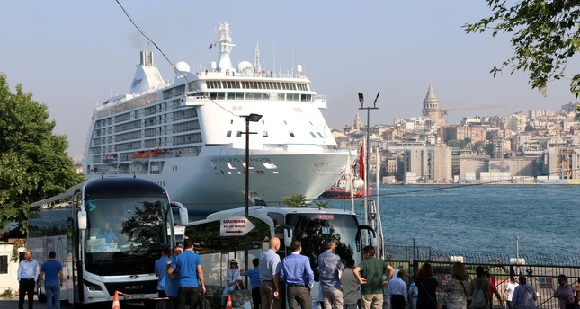 Istanbul welcomes first cruise ship in four years