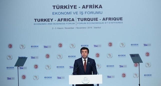 تركيا تدعو إلى إعلان 2017 سنة تجارة حرة مع إفريقيا