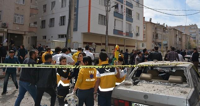 جرحى وأضرار مادية في انفجار عرضي بمدينة ديار بكر جنوبي تركيا