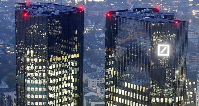 Deutsche Bank headquarters are photographed in Frankfurt, Germany.   (AP Photo)