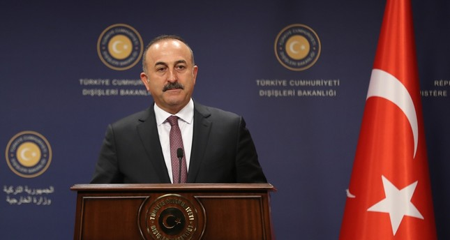 Syrian operation is to clear Daesh from Turkey's southern border, Foreign Minister Çavuşoğlu says