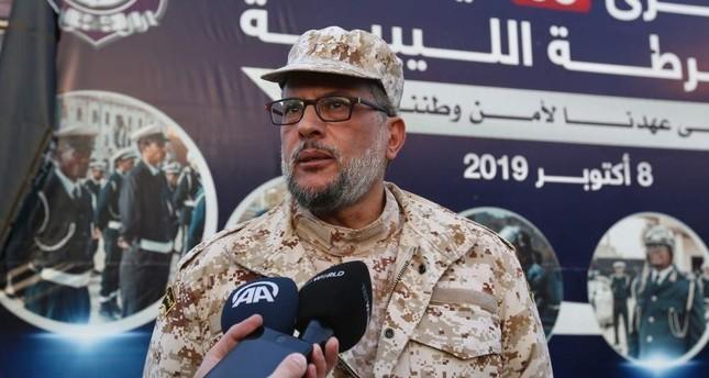 Nasir Ammar, commander of Libya's UN-backed Tripoli government army. AA Photo