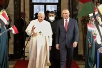 بابا الفاتيكان يصل بغداد في زيارة تاريخية