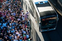 Overcrowded metrobuses become ordeal for Istanbul commuters