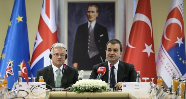 وزير تركي: على الاتحاد الأوروبي احترام القضاء التركي والإدلاء بتصريحات متزنة