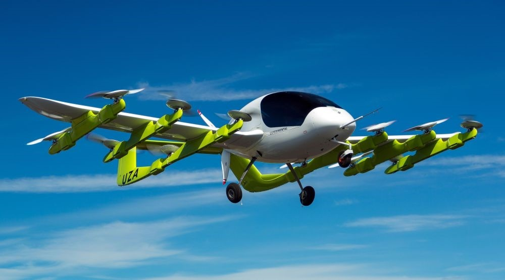 Zephyr Airworks in New Zealand shows a u2018Corau2019 electric-powered air taxi in flight. Self-piloted flying taxis are tested in New Zealand as part of a project backed by Google co-founder Page that supporters say will revolutionize personal transport.