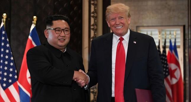 ترامب يقول إنه وكيم جونغ أون وقعا في الحب