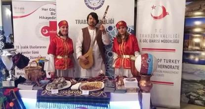 طرابزون التركية تقيم معرضاً فنياً للمهاجرين بمناسبة يومهم العالمي