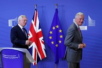 EU and Britain meet for 2nd round of Brexit talks in Brussels