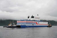 Russia's floating nuclear power plant sets sail across Arctic despite warnings