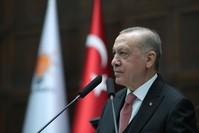 أردوغان في اجتماع الكتلة البرلمانية لحزب العدالة والتنمية، أنقرة الأناضول
