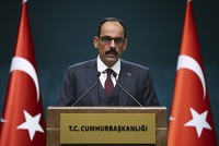 PYD cannot represent Syrian Kurds at the upcoming Sochi congress, Kalın says