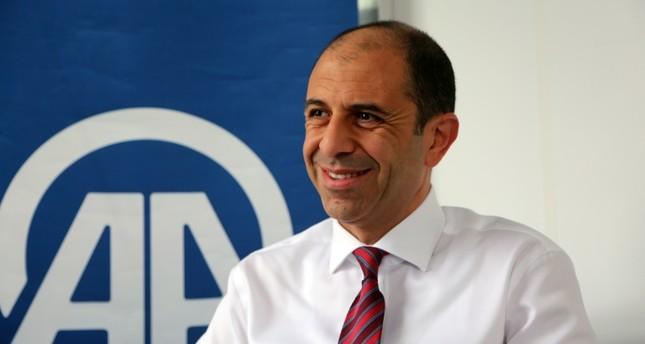 TRNC Foreign Minister Kudret Özersay. (AA Photo)