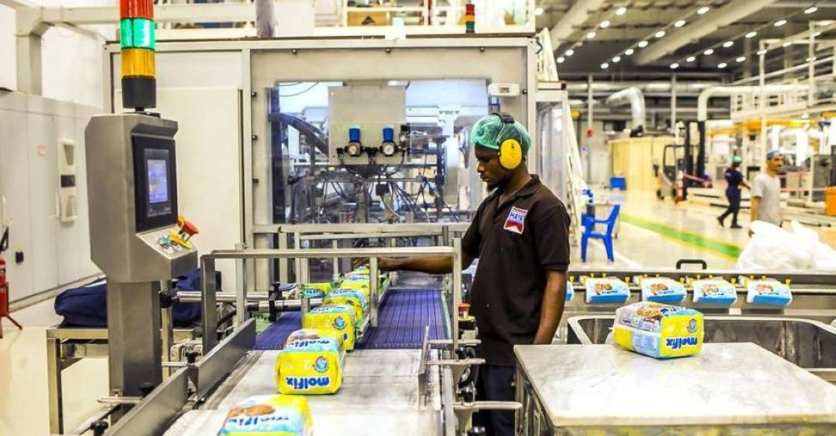 Turkish fast-moving consumer goods producer (FMCG) Hayat Holding has a production facility in the West African country Nigeria and employs more than 400 people. (AA Photo)
