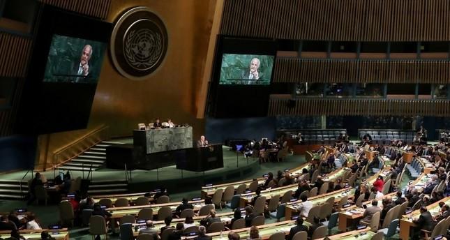 تركيا: تصويت الأمم المتحدة أثبت أن الشعب الفلسطيني لن يترك وحيداً