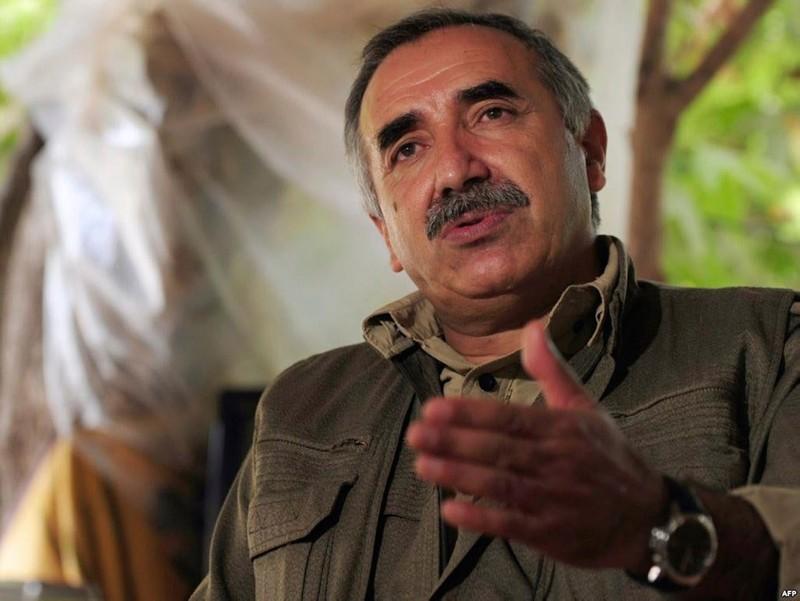 Photo shows PKK's acting leader Murat Karayu0131lan. (FILE Photo)