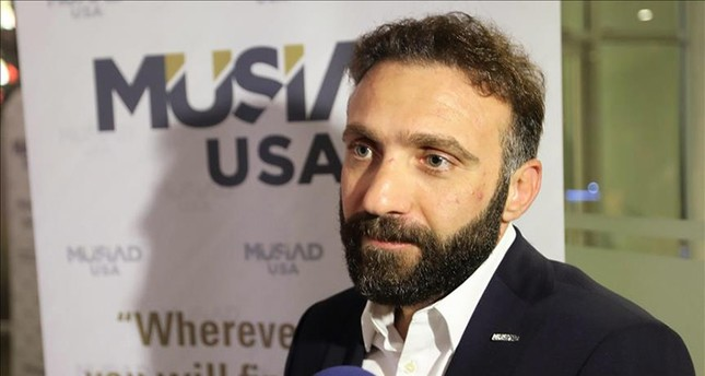 MÜSİAD USA President Mustafa Tuncer (AA Photo)
