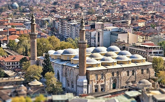 Bursa S Most Prominent Landmark The Grand Mosque Daily Sabah