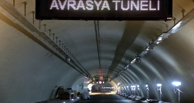 تحديد موعد افتتاح نفق أوراسيا الواصل بين شطري اسطنبول أسفل البسفور