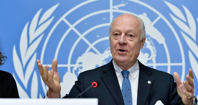 المبعوث الأممي الخاص إلى سوريا استيفان دي مستورا   أرشيفية